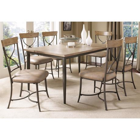 Hillsdale Charleston Rectangle X-Back 7-Piece Dining Set