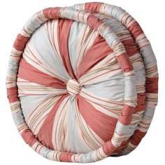 "Cornelia Striped 14"" Wide Tufted Decorative Pillow"