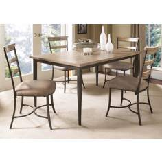 Hillsdale Charleston Rectangle and Ladder 5-Piece Dining Set