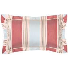 "Cornelia Striped 18"" Wide Lumbar Decorative Pillow"