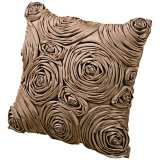 "Milano 18"" Square Flower Bud Decorative Pillow"