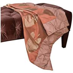 "Milano 52"" Long Two-Tone Decorative Throw"