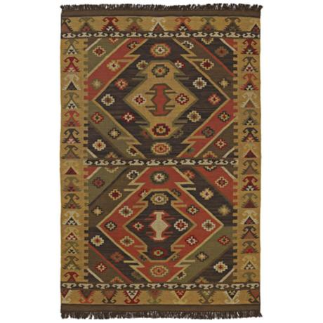 Surya Jewel Tone JT-1090 Gold Area Rug