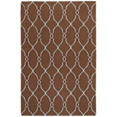 Surya Fallon FAL-1008 Chocolate Area Rug
