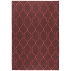 Surya Fallon FAL-1012 Chocolate Area Rug