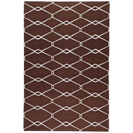 Surya Fallon FAL-1017 Chocolate Area Rug