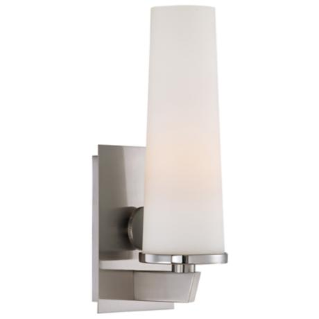 "Quoizel Uptown Chelsea 5 1/2"" Wide Brushed Nickel Sconce"