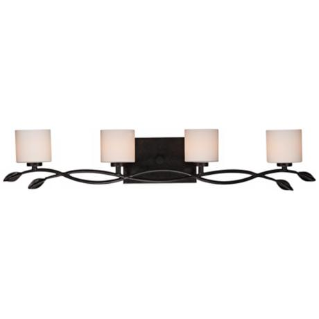 "Quoizel Erin 33"" Wide 4-Light Imperial Bronze Vanity Light"