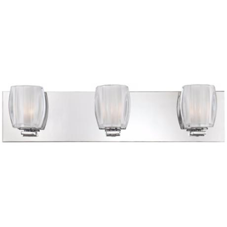 "Forme Optics 3-Light 22"" Wide Bathroom Light Fixture"