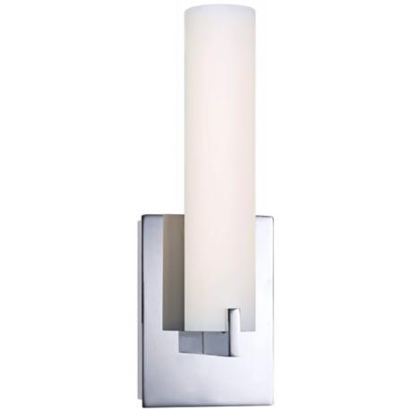 "George Kovacs 13 1/4"" High ADA Chrome LED Wall Sconce"