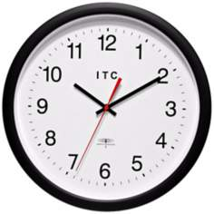 "Time Keeper 14"" Round Wall Clock"
