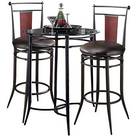 Hillsdale Midtown 3-Piece Bistro Set