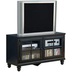 "Hillsdale Grand Bay 48"" Wide Wood Entertainment Center"