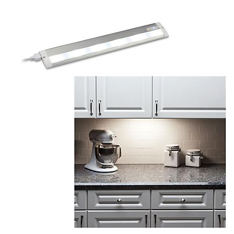"LED 18"" Wide Aluminum White Under Cabinet Light"