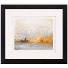 "Low Country IV 35"" Wide Framed Abstract Wall Art"