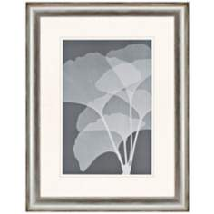 "Gingkos I 41"" High Framed Tree Leaf Wall Art"