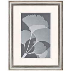 "Gingkos II 41"" High Framed Tree Leaf Wall Art"
