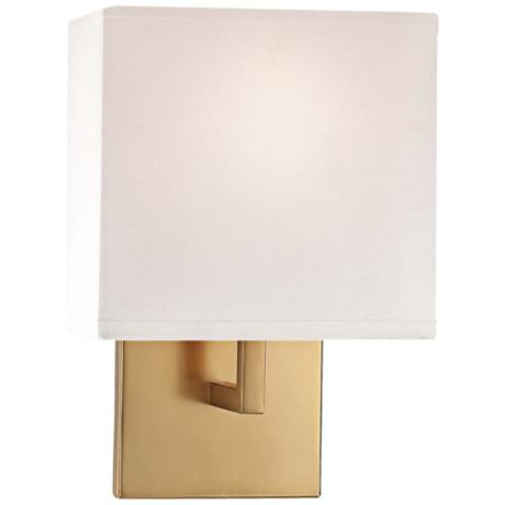 "George Kovacs 11 1/2"" High Honey Gold Wall Sconce"