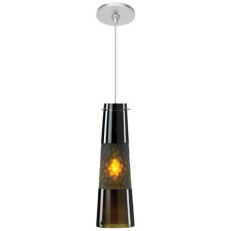 LBL Bonn Olive Nickel Pendant Light