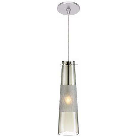 LBL Bonn Smoke Nickel Pendant Light