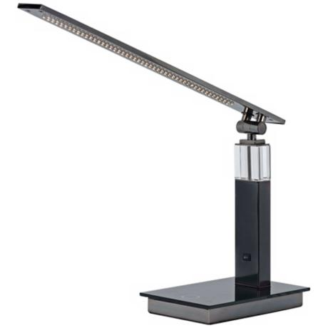 Jacent Gun Metal LED Desk Lamp