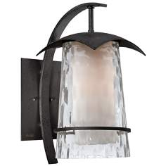 "Mayfair 17 1/2"" High Quoizel Outdoor Wall Sconce"