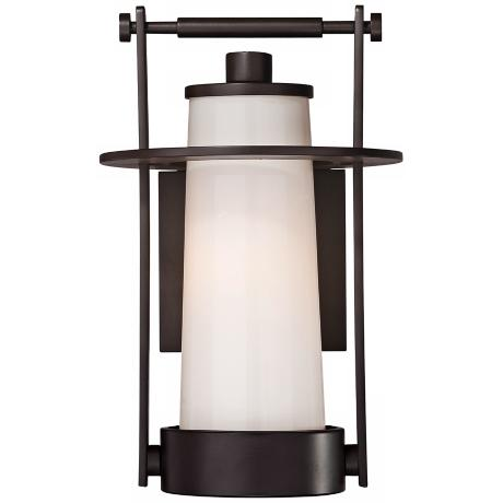"Quoizel Uptown East River 12"" High Outdoor Wall Light"