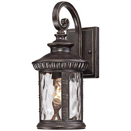 "Quoizel Chimera 7"" Wide Imperial Bronze Outdoor Wall Light"