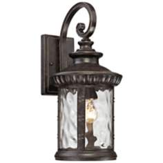 "Quoizel Chimera 9"" Wide Imperial Bronze Outdoor Wall Light"
