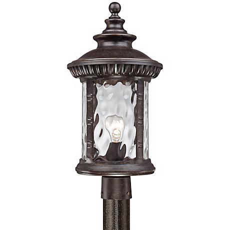 "Quoizel Chimera 10 1/2"" Wide Bronze Outdoor Post Light"