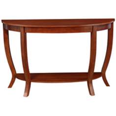 Ella Cherry Wood Sofa Table