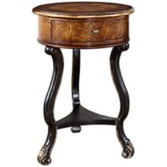 "Timeless Classics 18"" Wide Round Accent Table"