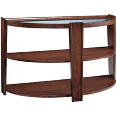 "Nuvo 29"" High Umber Sofa Table"