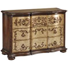 Livia Hand-Painted Wood Accent Chest of Drawers