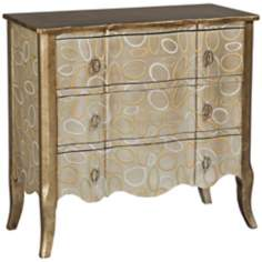 Dyno Oval Pattern 3-Drawer Chest