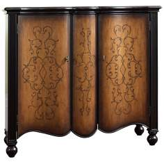 Medici Multi-Tone Midnight Hand-Painted Accent Chest