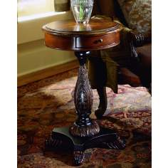 Stratford Hand-Painted Starburst Accent Table