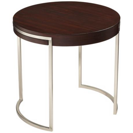 Kyle Wood Veneer End Table