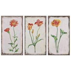"Uttermost Set of 3 Casual Change 22 1/4"" Wide Wall Art"