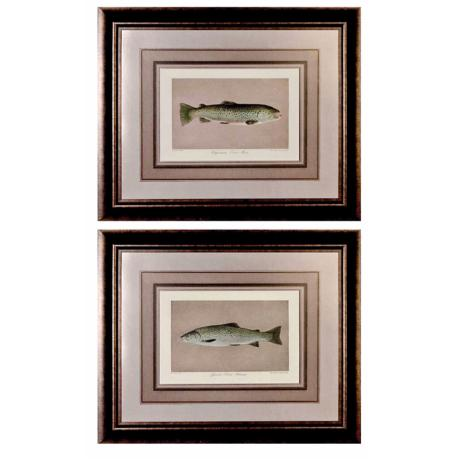 "Set of 2 Uttermost Fisherman's Delight 33"" Wide Wall Art"