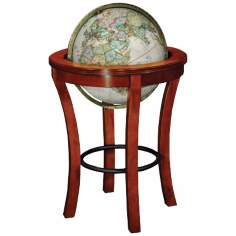 "Garrison 23 1/2"" Wide Brown National Geographic Globe"