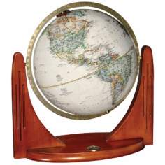 "Compass Star 17 1/2"" High National Geographic Globe"