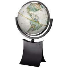 "Phoenix II 24"" High National Geographic Globe"