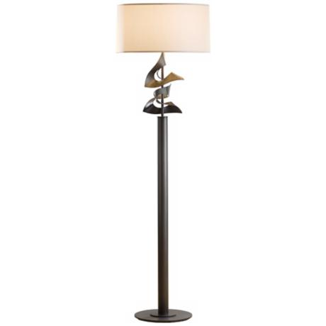 Hubbardton Forge Gallery Dark Smoke Floor Lamp