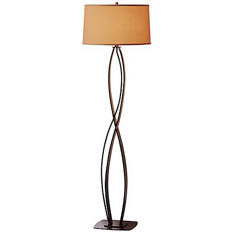 Hubbardton Forge Almost Infinity Bronze Floor Lamp