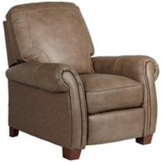 Arden Leather Match Dunhill Brown Recliner