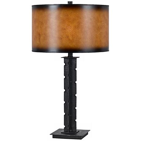 Tularosa Hand-Forged Iron Table Lamp