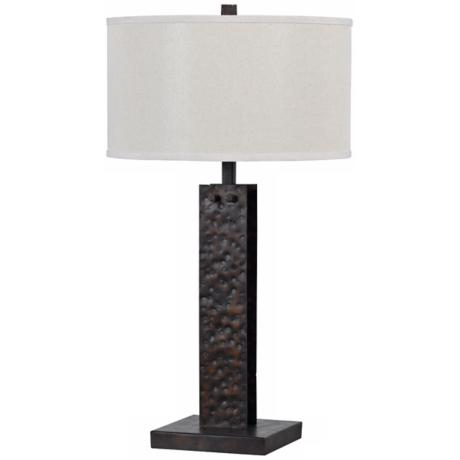 Cedar Hand-Forged Iron Table Lamp