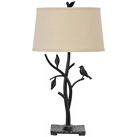 Medora Iron Bird Table Lamp