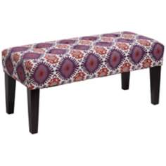 Joan Alara Berry Contemporary Bench